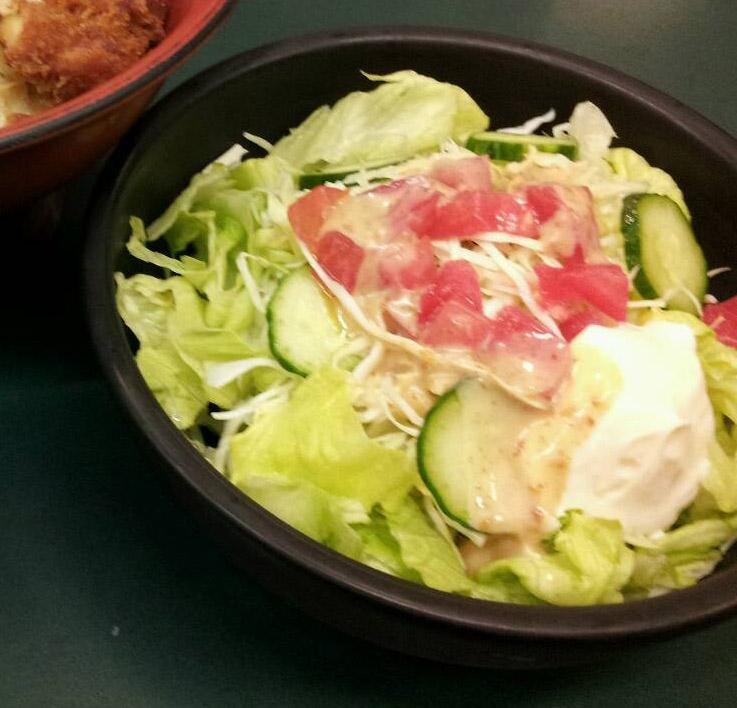 サラダだけに皿
